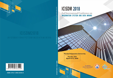 9dad7c746c ICISDM2018 Conference Proceedings - Cover